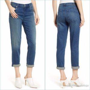 BLANK NYC Denim Ludlow Crop Girlfriend Jeans Sz 28